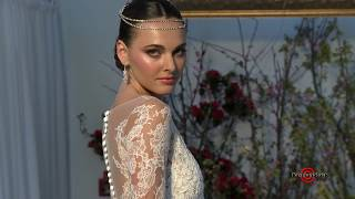 Anne Barge Spring Summer 2017 Collection Runway Show @ Bridal Fashion Week NY