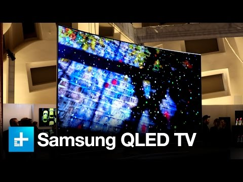 Samsung QLED TV Hands on at CES 2017