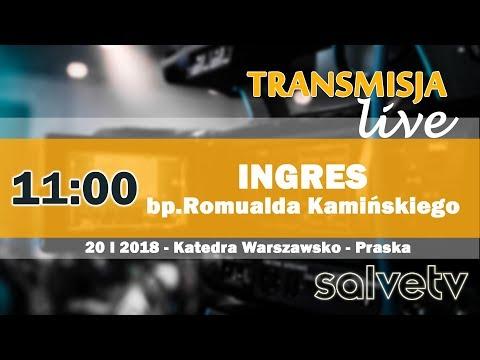 11:00 - Ingres bp. Romualda Kamińskiego do Katedry Warszawsko-Praskiej