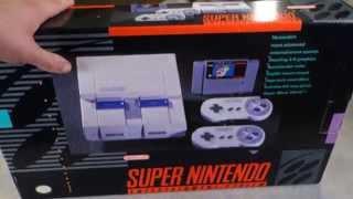 Super Nintendo Unboxing