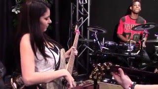 Bass Musician Magazine NAMM 2016 -  Gruv Gear Presents Ana Sentina