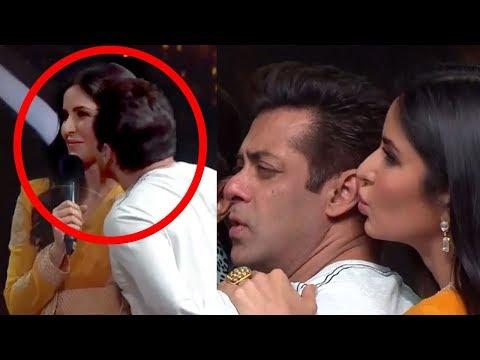 Katrina Kaif KISSES Salman Khan On Dance India Dance.. What Salman Does Next Will Melt Ur Heart