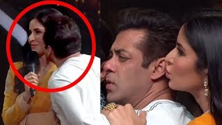 Katrina Kaif KISSES Salman Khan On Dance India Dance.. What Salman Does Next Will Melt Ur Heart