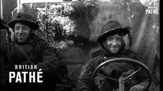 Invasion Scenes Europe - British Troops (1945)