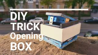 How to build a wooden TRICK OPENING BOX / Tutorial