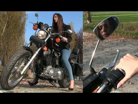 Miss Iris : the Harley Davidson cranking disaster | Trailer Pedal Pumping
