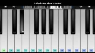 Tum Hi Ho- Easy Mobile Piano Tutorial- Aashiqui 2 (2013)