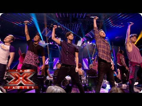 The Final 11 sing Avicii's Wake Me Up - Live Week 2 - The X Factor 2013