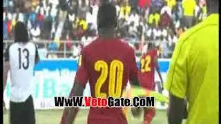 هدف تعادل غانا فى مرمى مصر