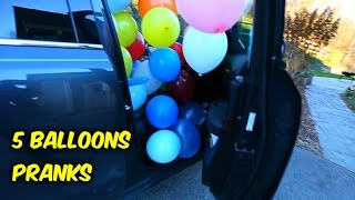 5 Balloons Pranks to Play on your Friends and Family