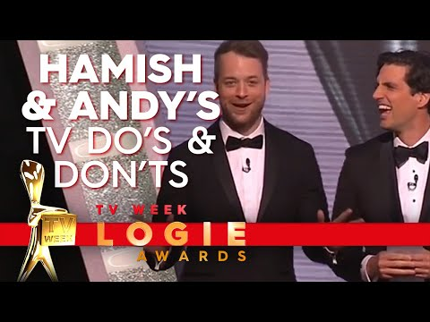 Hamish & Andy's TV 'Schoolies' Do's and Don'ts | TV Week Logie Awards 2018