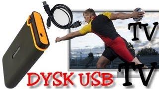 Jak podłączyć dysk do telewizora przez USB