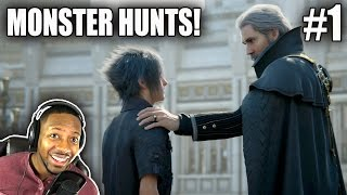 Final Fantasy XV : Not Missing Any Secrets! Chapter 1 Side Quest Bounty Hunts! | FFXV Ep.1