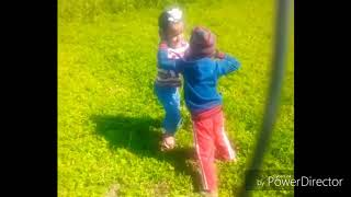 fight! desi fight  enjoy ! children desi fight gaint vedio