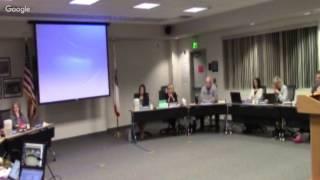Sesión ordinaria de la Mesa Directiva de Educación del MUSD - 2/13/17
