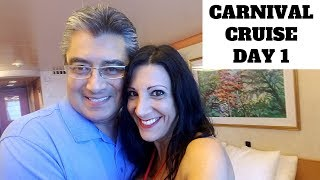 Carnival Miracle Cruise Ship Extended Balcony Room 7188 Mexico Vacation - DAY 1