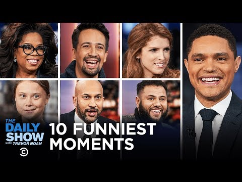 Top 10 Funniest Interview Moments of 2019 The Daily Show