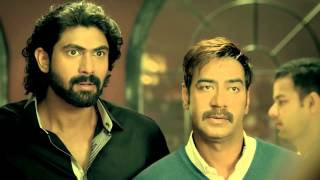 Toabh Talent Nathalia Kaur with Ajay Devgn and Rana Daggubati for Aristocrat TVC