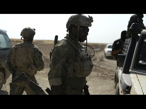 watch Caught on camera: US Special Forces on ISIS frontline in Syria