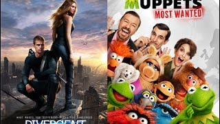 AJ's Movie Reviews: Muppets Most Wanted, Divergent, God's Not Dead & More!(3-21-14)