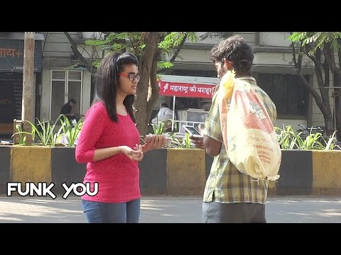 Beggar with iPhone Prank by Funk You Pranks in India English Subtitles