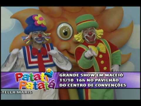 Patati Patatá chamada do show em Maceió