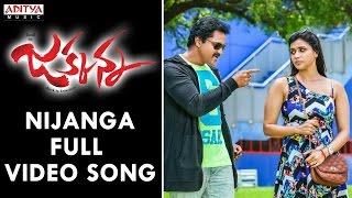 Nijanga Full Video Song | Jakkanna Full Video Songs | Sunil, Mannara Chopra, Karthik, Dinesh