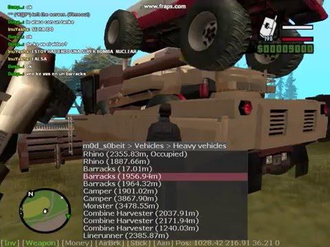 GTA SA BOMBA HIPER NUCLEAR. 100 REAL. 100 COOL. SAMP