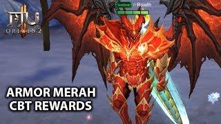 Cara Claim CBT Rewards & Armor Merah Berkilau - MU Origin 2 (Android)