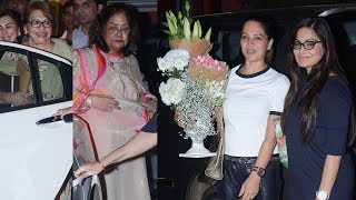 Salman Khan's Mother Salma Khan's Birthday Party 2017   Helen, Alvira Khan