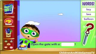 Super Why! Woofster's Delicious Dish Game Full HD Kids Video