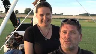 التحليق بطائرة شراعية حول العالم | يوروماكس