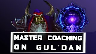 Hots Master Coaching on Gul'dan - Heroes of the Storm Gul'dan Coaching