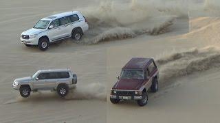 تطعيس في العديد 28/10/2016  - Dune Bashing in Qatar