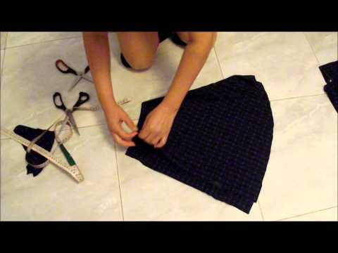 Faça você mesma sua saia godê parte 1