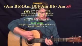 Dessert (Dawin) Guitar Lesson Chord Chart - Capo 6th