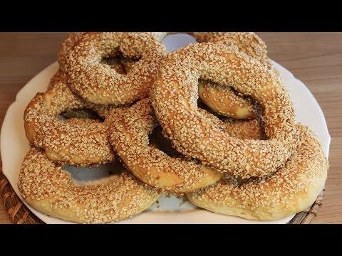 Türkische Sesamringe Simit mit Nihan Ganz einfach selber machen