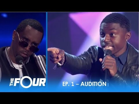 Quinton Ellis This Talented Kid Reminds Diddy Of a Young Usher S2E1 The Four