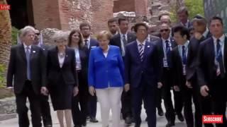 WATCH: President Donald Trump Tours G7 Summit 2017 in Taormina, Sicily, Italy, Taormina Summit