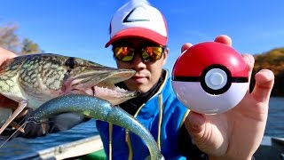 Halloween FISHING --- The Quest to Become a Pokemon Master!