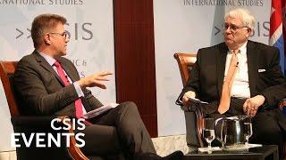 Statesmen's Forum: Gunnar Bragi Sveinsson, Icelandic Foreign Minister