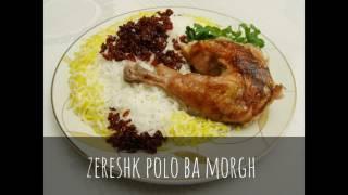 top 10 iranian food