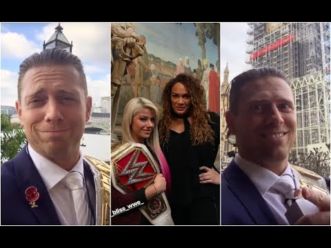 Xxx Mp4 The Miz Hanging Out With Alexa Bliss And Nia Jax In Europe 3gp Sex