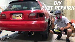 DIY RUST REPAIR! - EG Hatch