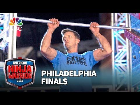Geoff Britten at the Philadelphia Finals American Ninja Warrior 2016