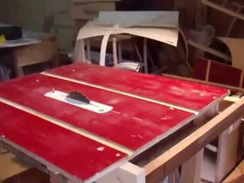 serra de bancada feita em casa