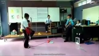 Power Giler...Budak2 Sekolah Goreng Lagu Cromok
