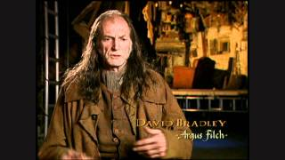 Harry Potter and the Chamber of Secrets - David Bradley short interview