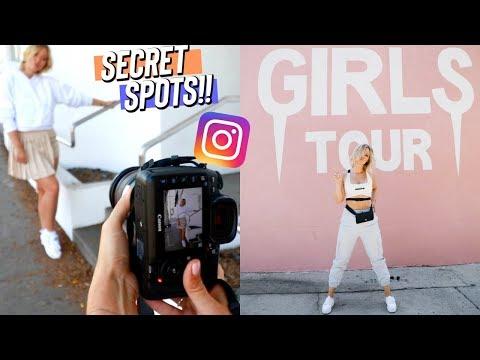 BEST Instagram Spots in LA!! Melrose Ave
