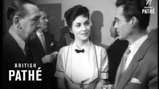 Italian Stars At Film Studio Aka Italian Film Stars Visit Elstree Studios (1952)